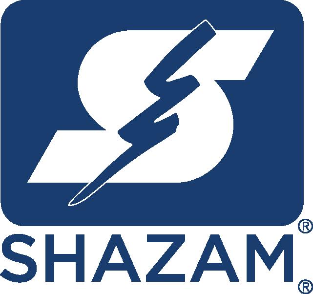 SHAZAM stacked logo_PMS 654